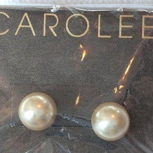"""Carolee """"Pearl Basics"""" Simulated Stud Earr…"""